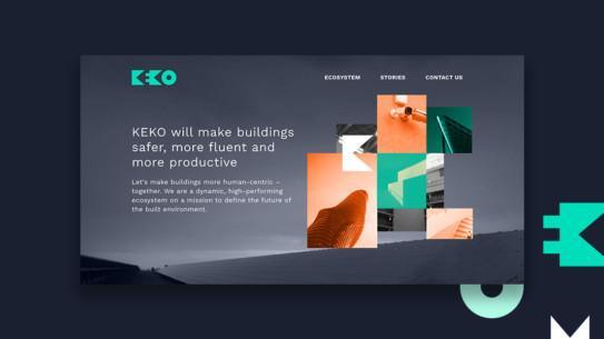 KEKO – Vaikuttava brändi ja verkkosivusto ekosysteemihankkeelle