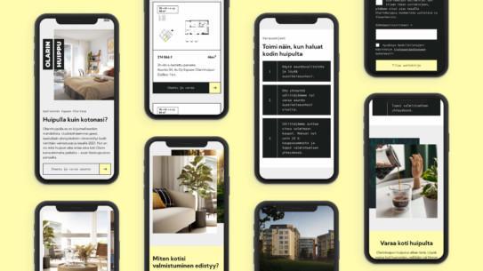 Olarinhuippu – Omaleimainen brändi ja tuloksekas verkkosivusto pienellä budjetilla tiiviissä aikataulussa